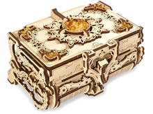 Load image into Gallery viewer, UGears Antique Amber Box Wooden 3D Model