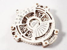 Load image into Gallery viewer, UGears Date Navigator Wooden 3D Model