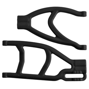 Extended Right Rear A Arms, Black: Summit & Revo