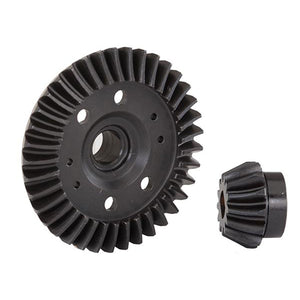 Ring and Pinion Gear, Differential (Machined, Spiral Cut) (Rear): 6879R