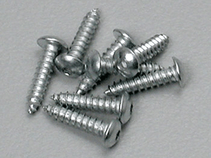 "#4 x 1/2"" Button Head Sheet Metal Screws (8)"