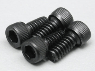6 32x1/4 Socket Cap Screws