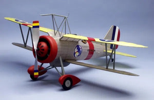 "30"" Wingspan Curtiss F9C2 Sparrowhawk Rubber Pwd Aircraft Laser Cut Kit"