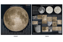 Load image into Gallery viewer, Deluxe Folding Moon Map