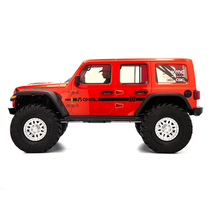 1/10 SCX10 III Jeep Wrangler, 4WD, RTD (Requires battery & charger): Orange