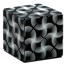 Load image into Gallery viewer, Shashibo Cube - Black and White