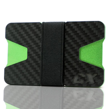 Load image into Gallery viewer, CX Wallets Carbon / Green