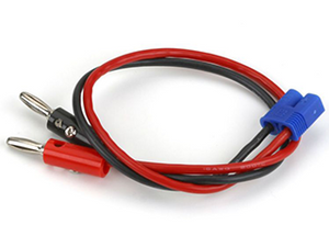 "EC3 Charge Lead with 12"" Wire & Jacks"