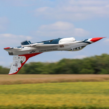 Load image into Gallery viewer, F16 Thunderbirds 70mm EDF Jet BNF Basic