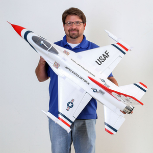 F16 Thunderbirds 70mm EDF Jet BNF Basic