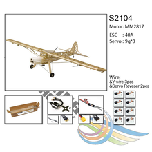 Load image into Gallery viewer, Fiesler Storch 156 Kit (1.6M), Free Motor, ESC, Servos