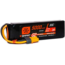 Load image into Gallery viewer, 3 Cell 5000mAh 11.1V 30C Hard Case Smart LiPo G2: IC5