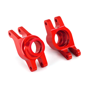 Carriers, Stub Axle, Aluminum, Red (Left And Right): 8952R