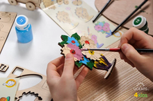 Load image into Gallery viewer, Ugears 4Kids Coloring Models: Bouquet