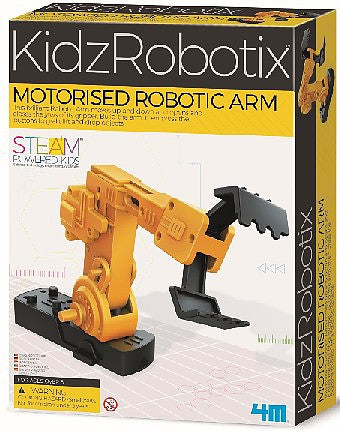 Motorized Robotic Arm Kit
