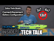 "Load and play video in Gallery viewer, Miss GEICO Zelos 36"" Twin Brushless Catamaran RTR"