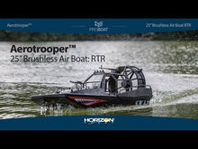 "Load and play video in Gallery viewer, Aerotrooper 25"" Brushless Air Boat, RTR"