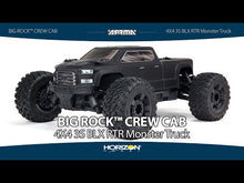Load and play video in Gallery viewer, 1/10 Big Rock, 4WD, BLX (Requires battery & charger): Black