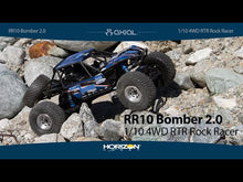 Load and play video in Gallery viewer, 1/10 RR10 Bomber 4WD Rock Racer RTR, Slawson