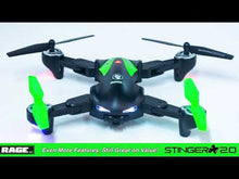 Load and play video in Gallery viewer, Stinger 240 V2 RTF FPV Drone w/1080p HD Camera