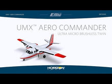 Load and play video in Gallery viewer, UMX Aero Commander BNF Basic with AS3X