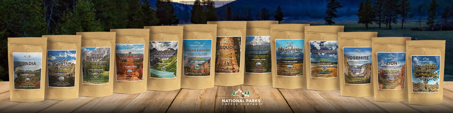 National Parks Coffee Collection
