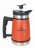 French Press Insulated Carafe with Bru-Stop™ 20 fl.oz Red Rock Orange - NATIONAL PARKS COFFEE COMPANY®