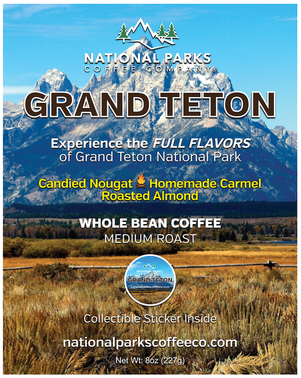 Grand Teton Coffee Whole Bean