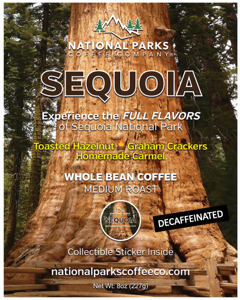 Sequoia Coffee Whole Bean Decaffeinated
