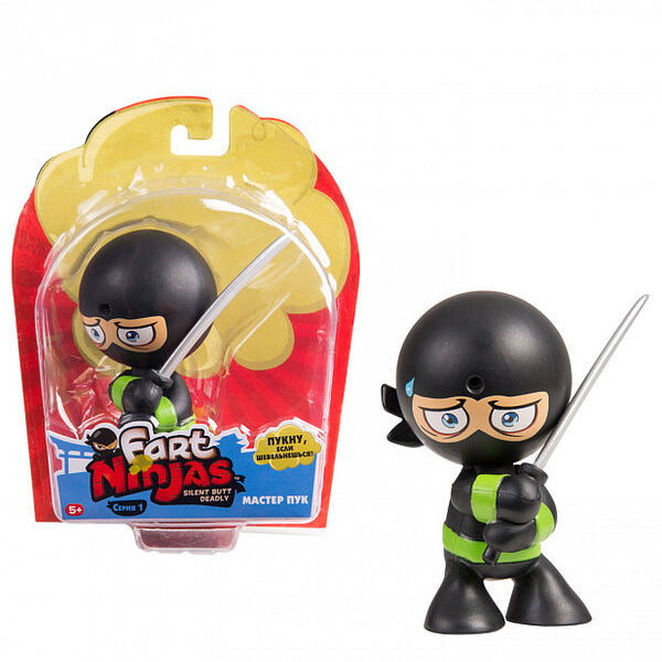 Actionfigurer Ninja (6 cm) - Decorema