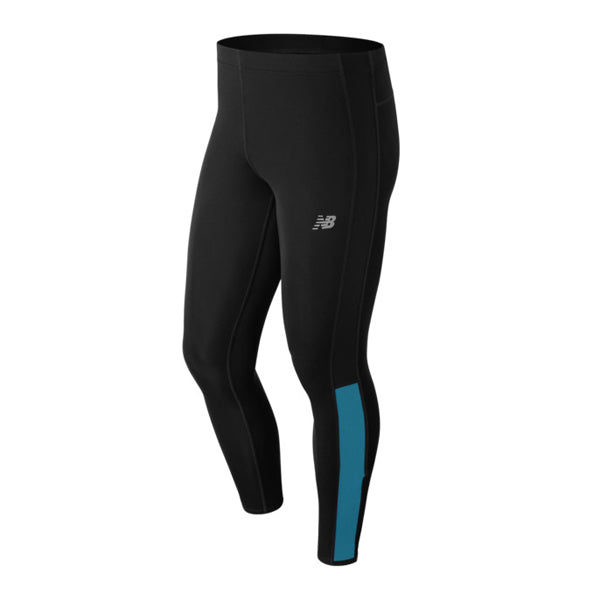 Leggings deportivos, Hombres New Balance Accelerate Black