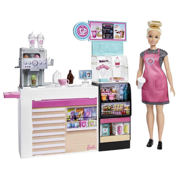 Playset Barbie Coffee Shop Mattel - Decorema