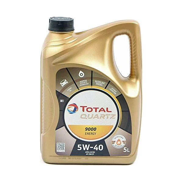 Engine Lubricating Oil Total QUARTZ 9000 (5L) - Decorema