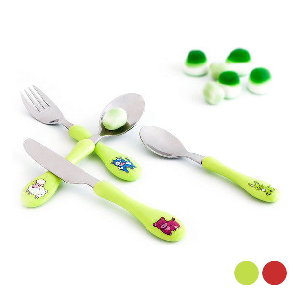 Bestick-set Amefa Enfant (4 pcs) - Decorema
