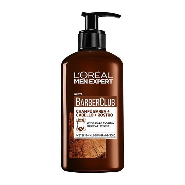 Beard Shampoo Men Expert Barber Club L'Oreal Make Up (200 ml) - Decorema