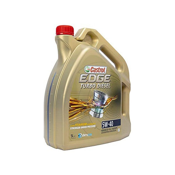 Engine Lubricating Oil Castrol EDGE TITAN TD (5L) - Decorema