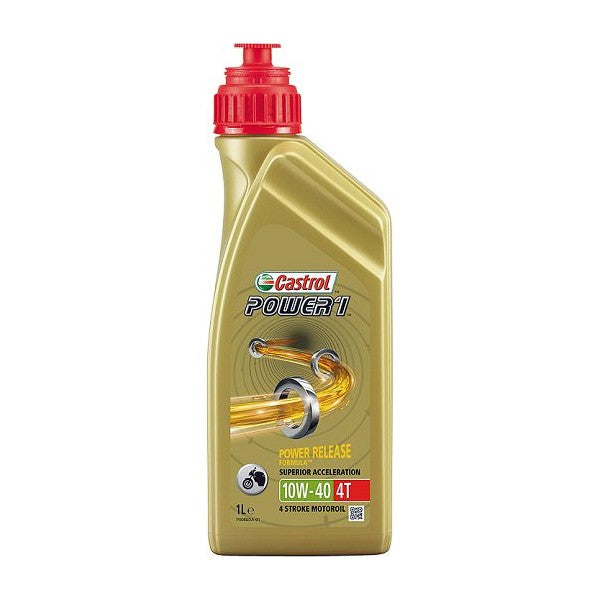 Engine Lubricating Oil Castrol Power 4T (1L) - Decorema