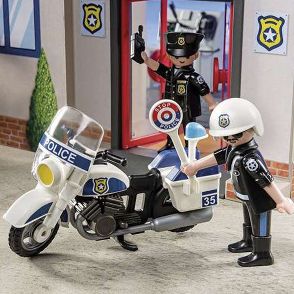 Playset City Action Police Station Playmobil 5689 (69 pcs) - Decorema