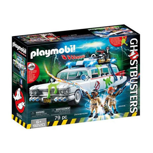 Playset Ghostbusters Car Playmobil 9220 (79 pcs) - Decorema