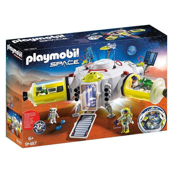 Playset Space Mars Playmobil 9487 Vit - Decorema