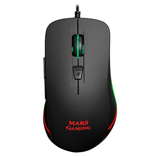 Optisk Mus Mars Gaming MM118 USB 9800 DPI Svart
