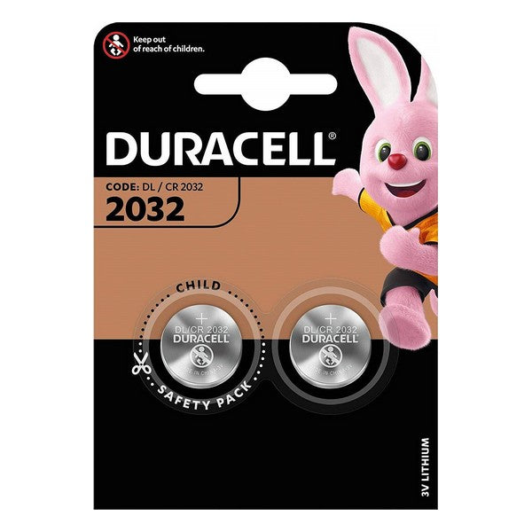 Button cell battery lithium DURACELL DRB20322 (2 out)