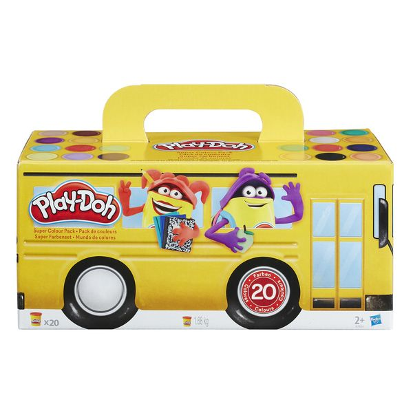 Play-Doh 20xPack Back to School Hasbro - Decorema