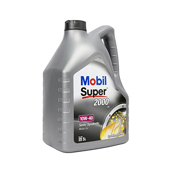 Engine Lubricating Oil Mobil SUPER2000 (5L) - Decorema