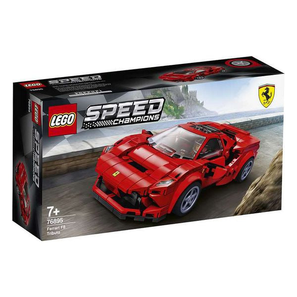 Playset Speed CHAMPIONS Ferrari F8 Lego 76895 - Decorema