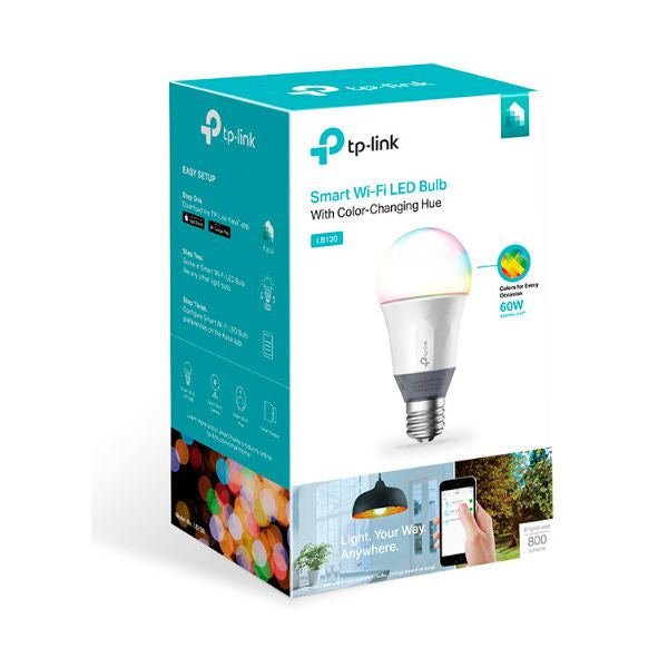 Sfärisk LED-lampa TP-Link LB130 WIFI Multicolour - Decorema