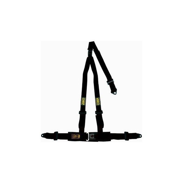 Harness with 3 fastening points OMP Road 3 - Decorema