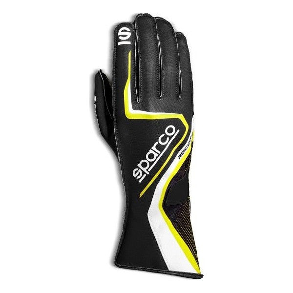 Men's Driving Gloves Sparco Record 2020 SZ10 Black