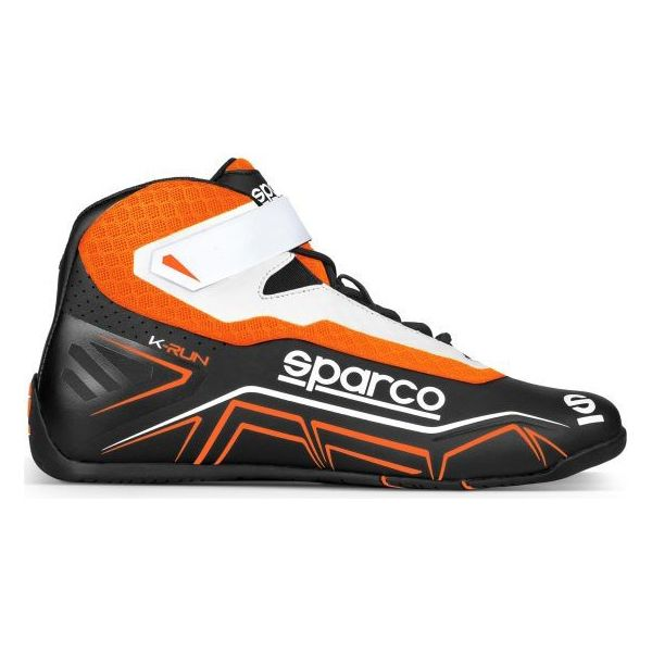Racing boots Sparco Vit Svart Orange (Storlek 46) - Decorema