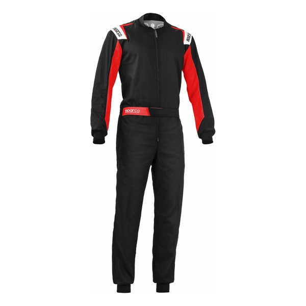 Karting Suit Sparco Rookie Black/Red (Size M)